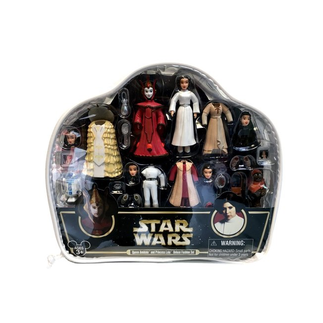 Combined Amidala and Leia Fashion Play Set