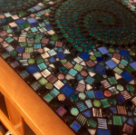 Mosaic tile bar